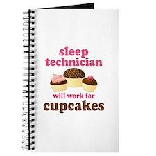 Sleep Technician Cupcake Journal