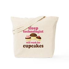 Sleep Technologist Cupcake Tote Bag
