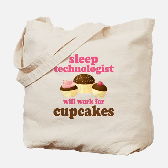 Sleep Technologist Cupcake Tote Bag