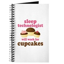 Sleep Technologist Cupcake Journal