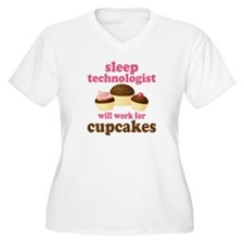 Sleep Technologist Cupcake T-Shirt
