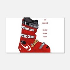 ski boot Wall Decal
