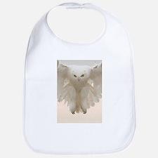 Ghost Owl Bib