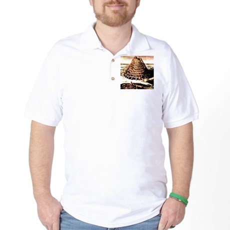 Tower of Babel Golf Shirt