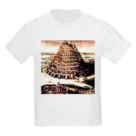 Tower of Babel Kids T-Shirt
