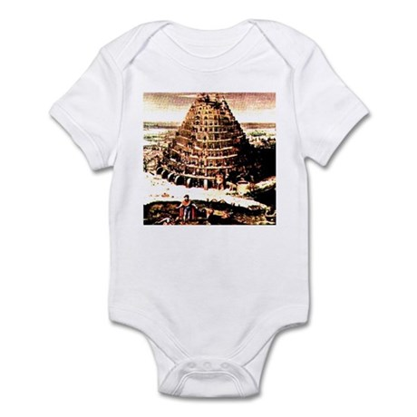 Tower of Babel Infant Bodysuit