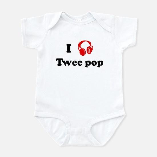 Twee pop music Infant Bodysuit