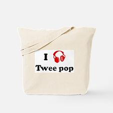 Twee pop music Tote Bag