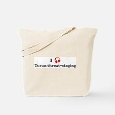 Tuvan throat-singing music Tote Bag