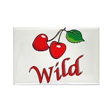 Wild Cherries Rectangle Magnet