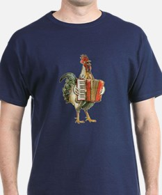 Accordian Chicken T-Shirt