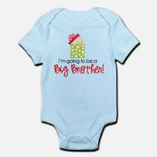 christmas present back brother Body Suit