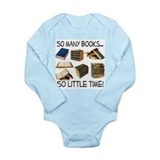 So Many Books... Long Sleeve Infant Bodysuit
