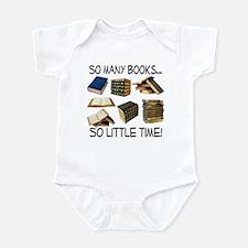 So Many Books... Infant Bodysuit