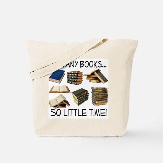 So Many Books... Tote Bag