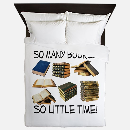 So Many Books... Queen Duvet