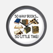 So Many Books... Wall Clock