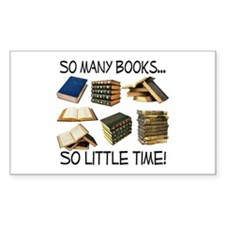 So Many Books... Decal