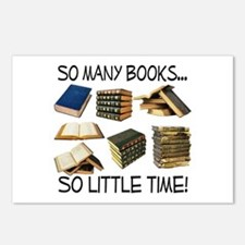 So Many Books... Postcards (Package of 8)
