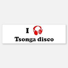 Tsonga disco music Bumper Bumper Bumper Sticker