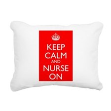 KCNO Rectangular Canvas Pillow
