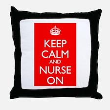 KCNO Throw Pillow