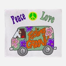 Groovy Van Throw Blanket
