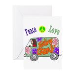 Groovy Van Greeting Card
