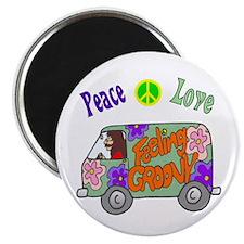 """Groovy Van 2.25"""" Magnet (10 pack)"""