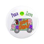 "Groovy Van 3.5"" Button (100 pack)"