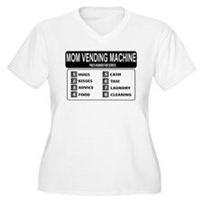 Funny humorous mom vending machine T-Shirt