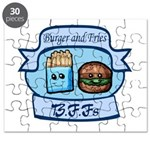 Burger and Fries BFFs Puzzle