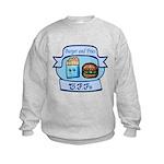 Burger and Fries BFFs Kids Sweatshirt