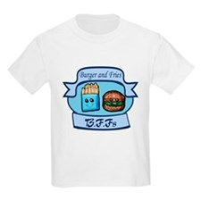 Burger and Fries BFFs T-Shirt
