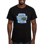 Burger and Fries BFFs Men's Fitted T-Shirt (dark)