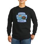 Burger and Fries BFFs Long Sleeve Dark T-Shirt