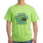 Burger and Fries BFFs Green T-Shirt