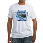 Burger and Fries BFFs Fitted T-Shirt