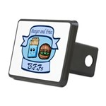 Burger and Fries BFFs Rectangular Hitch Cover