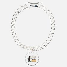 Computer Penguin Bracelet