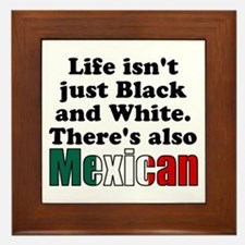 Theres also Mexican Framed Tile