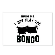 Cool Bongo designs Postcards (Package of 8)