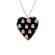 Trendy Colorful Owls Necklace