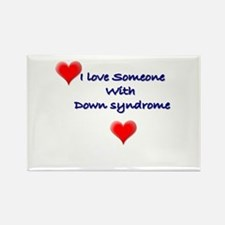 Unique Down syndrome Rectangle Magnet