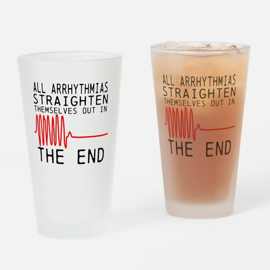 Unique Cardiac nurse Drinking Glass