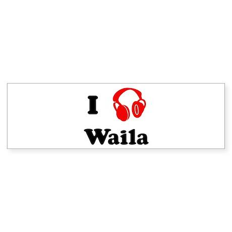 Waila music Bumper Sticker