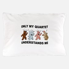 QUARTET CRITTERS Pillow Case