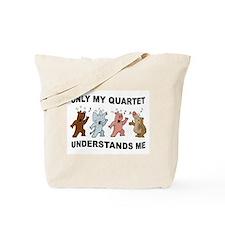 QUARTET CRITTERS Tote Bag