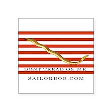 First Navy Jack Rectangle Sticker