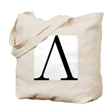 Greek Letter Lambda Tote Bag